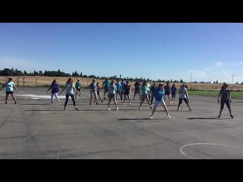 Barrett Ranch Staff flashmob 2019