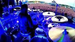 Jay Weinberg - Unsainted Live Drum Cam (Rockfest 2019)