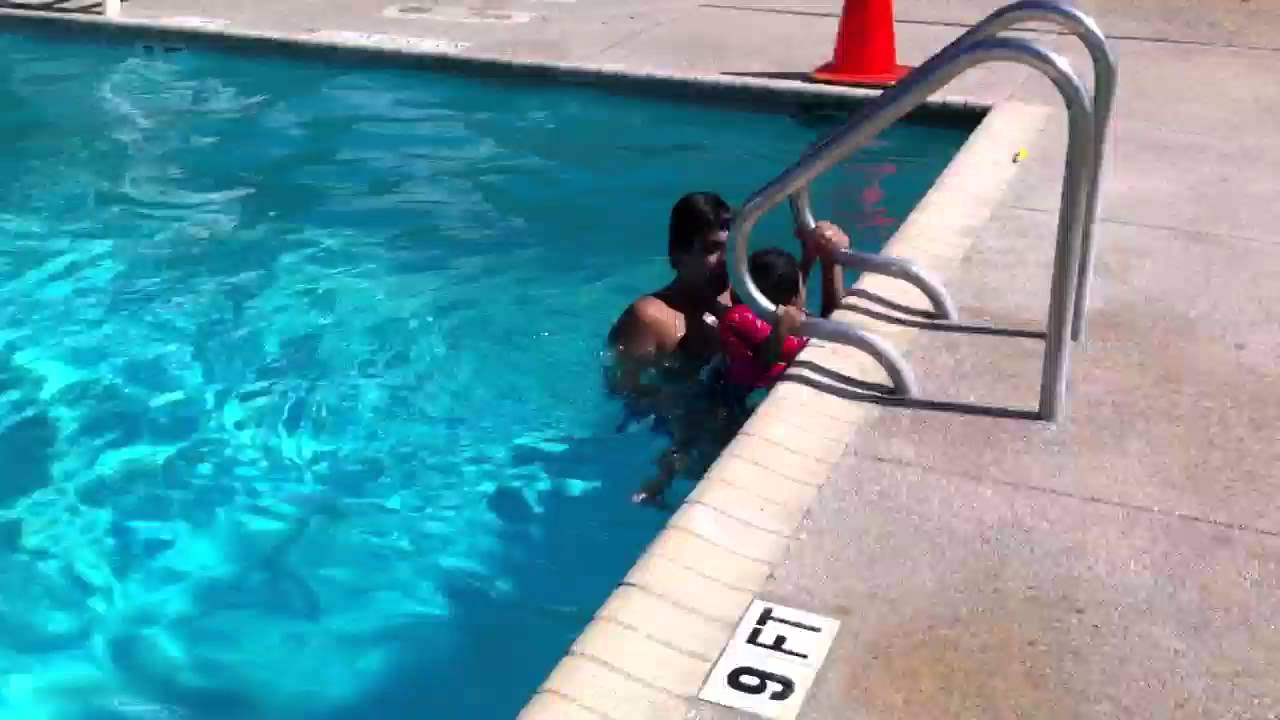 Navyaa Swimming Pool Deep 9 Ft Part 1 - YouTube