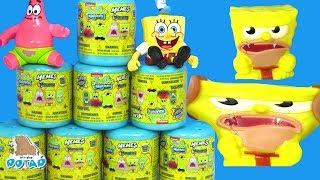 Губка Боб Сюрпризы! Видео для детей SpongeBob Игру...