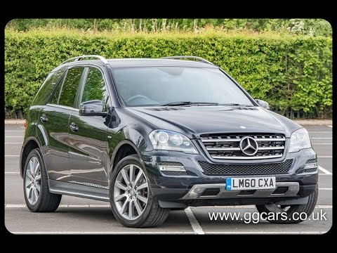 2010 60 MERCEDES BENZ M CLASS ML350 CDI BlueEFFICIENCY Grand Edition