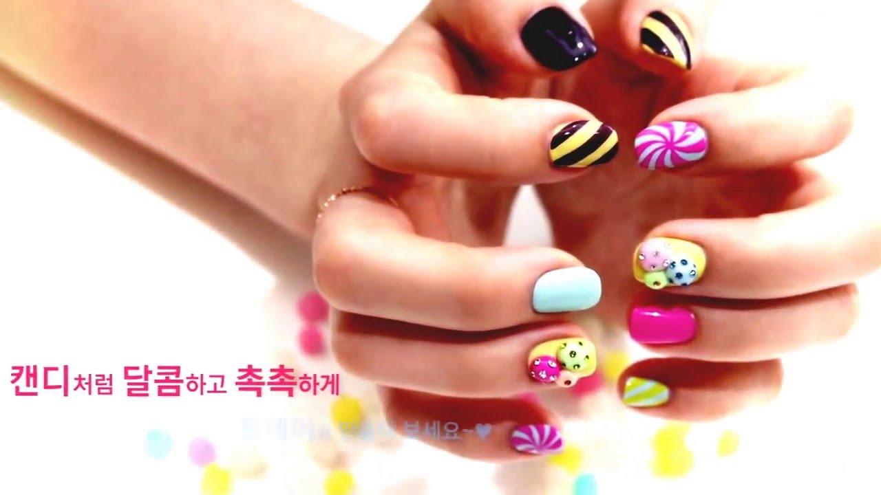Nail Art Ideas » Korean Nail Art - Pictures of Nail Art Design Ideas