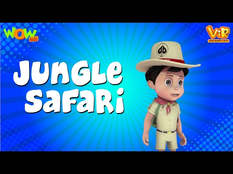 Jungle Safari - Vir: The Robot Boy WITH ENGLISH, SPANISH & FRENCH SUBTITLES