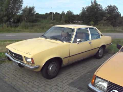 old opel rekord d and opel rekord e youtube. Black Bedroom Furniture Sets. Home Design Ideas
