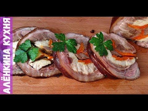 Мясной рулет из свиной рульки |||| rolls of pork knuckle ...