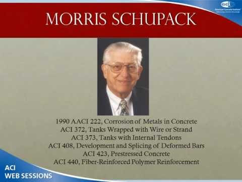 Morris Schupack's Contributions to Corrosion of metals in concrete