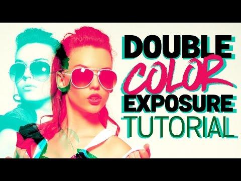 Double Color Exposure Effect Photoshop Tutorial thumbnail