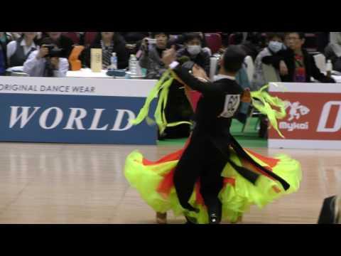 4K 2017 WDSF World Open Standard in Tokyo | Hiroaki Onishi - Sakina Onishi, JPN | Quarterfinal TANGO