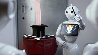 Robot Magic! Meet my new assistant!