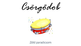 Hangszer ovi - Zöld paradicsom (csörgődob) / Hungarian children song (cat, cow, dog, animal)
