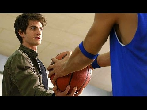 Peter Parker vs Flash  Basketball Scene  The Amazing SpiderMan 2012 Movie CLIP HD