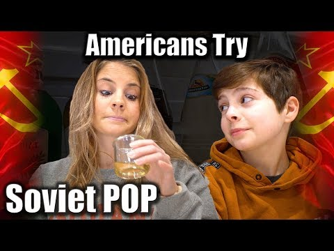 217. American Teens Try Soviet Pop For The First Time! #sovietdrinks