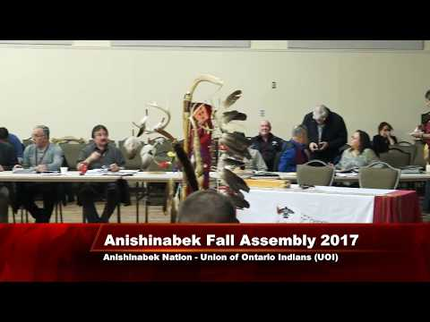 Anishinabek Nation Annual Fall Assembly 2017   Day 2 of 2
