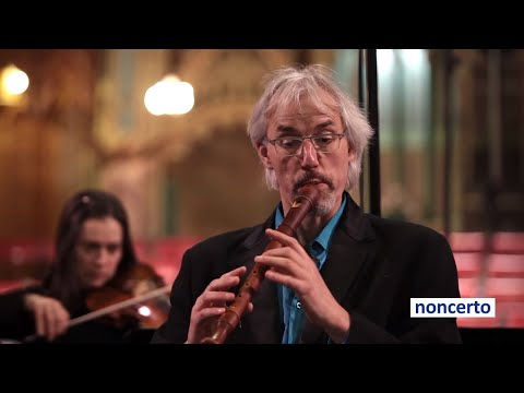 Bach - Recorder Concerto BWV1052 (noncerto 37.3 Ensemble Caprice) Classical Music Video