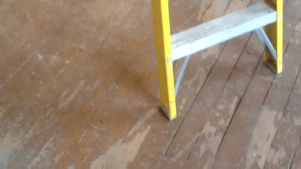 How to refinish soft pine floors without sanding part 2
