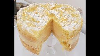 Brandteig Torte super einfach und lecker