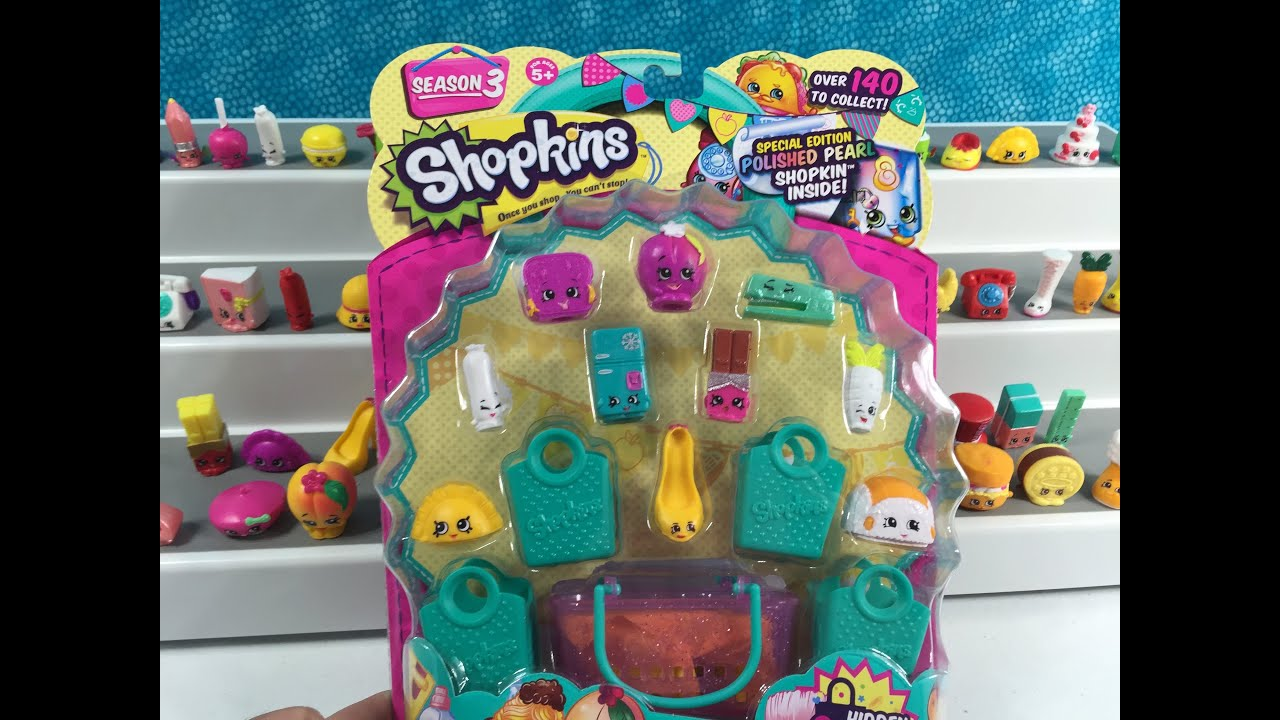 Shopkins Season 3 Unboxing Round 7 Huge GIVEAWAY 12 Days ...