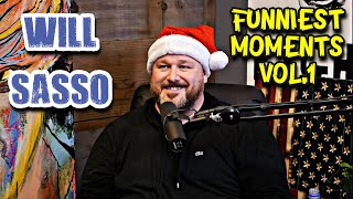 Download lagu Will Sasso | Funniest Podcast Moments Vol.1 (This Past Weekend, The Fighter & The Kid)