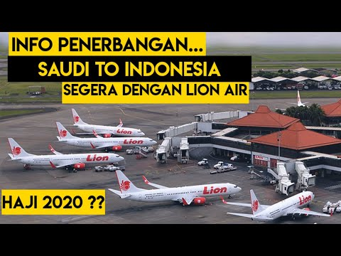 KEBAR TERKINI PENERBANGAN Mandiri WNI Arab Saudi Ke Indonesia Dengan LION AIR | Kabar Haji 2020