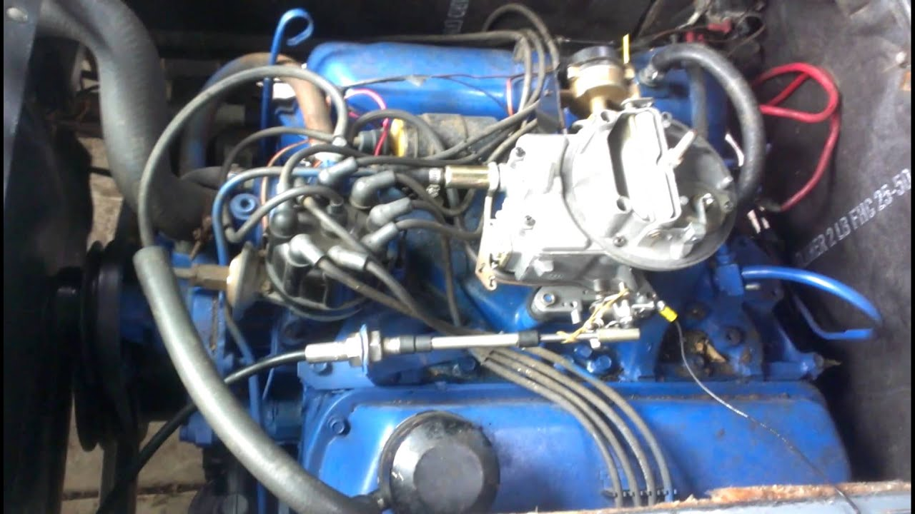 1964 Econoline 68 Mustang 289 Engine Idle Prior To