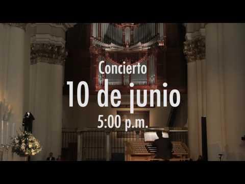 Cuarto Concierto Bach en Bogotá 10 de junio