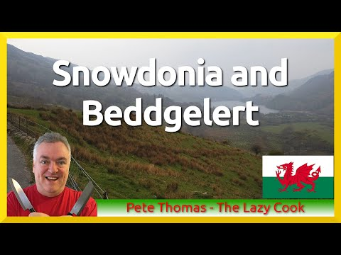 Snowdonia And Beddgelert In Beautiful North Wales
