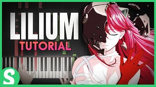 """How to play """"LILIUM"""" from Elfen Lied 