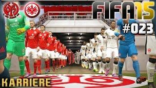 FIFA 15 KARRIERE #023: FSV Mainz vs. Eintracht Frankfurt «» Let