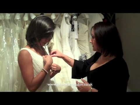 Jessica Farringdon Brides - Priya Kaur-Jones' dress fitting