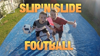 SLIP N SLIDE FOOTBALL VS MY BRO