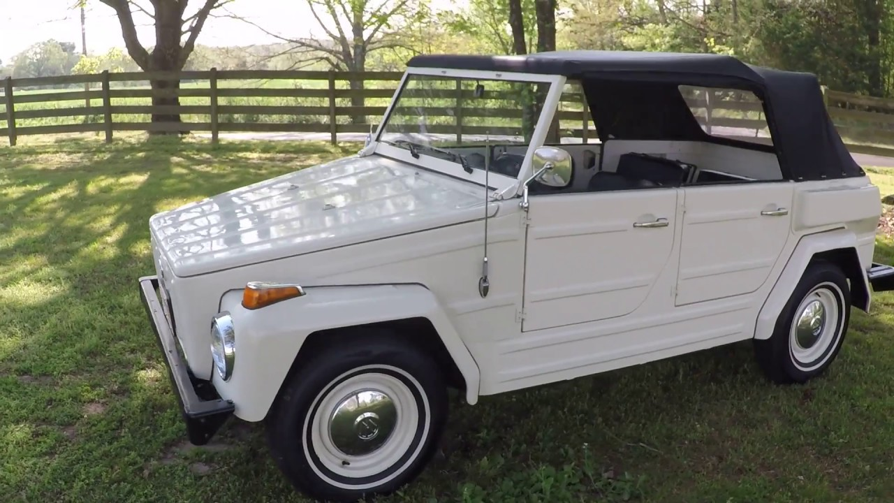 Volkswagen Thing For Sale >> West Tn 1974 Volkswagen Thing Type 181 Survivor Convertible Collectors For Sale Info Www Sunsetmotor