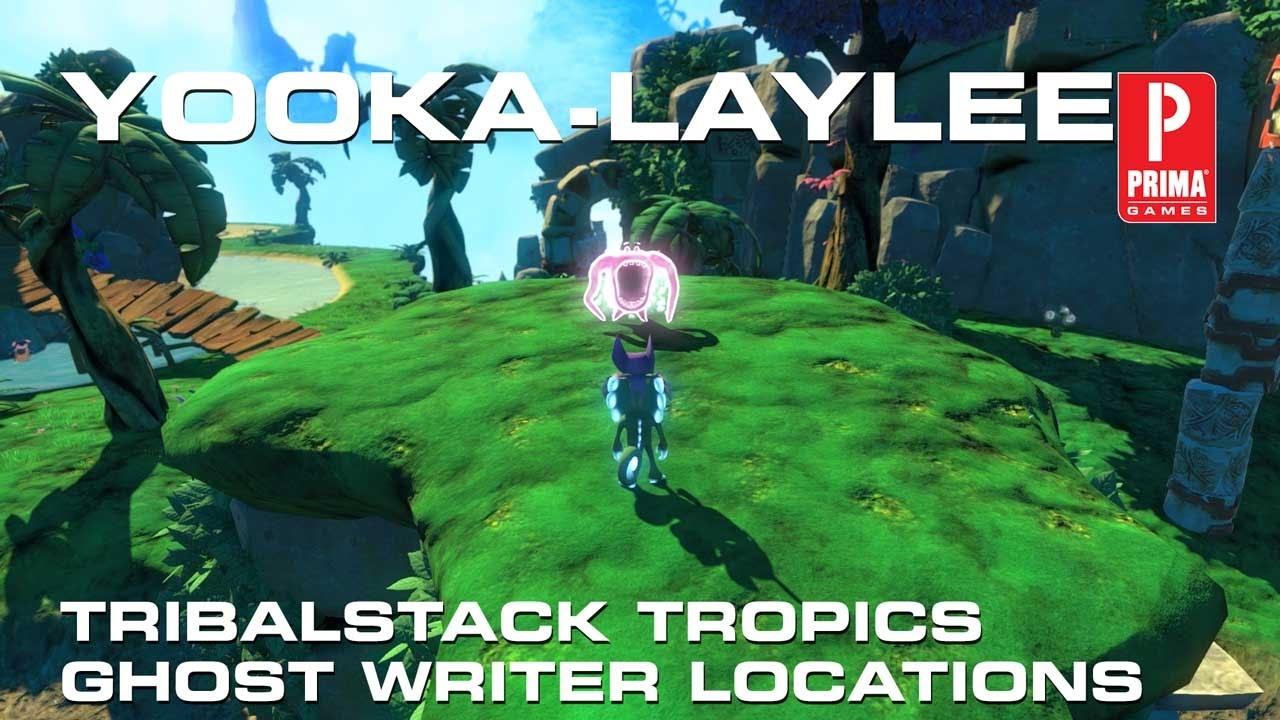 Ghost writer locations yooka laylee organischen chemie