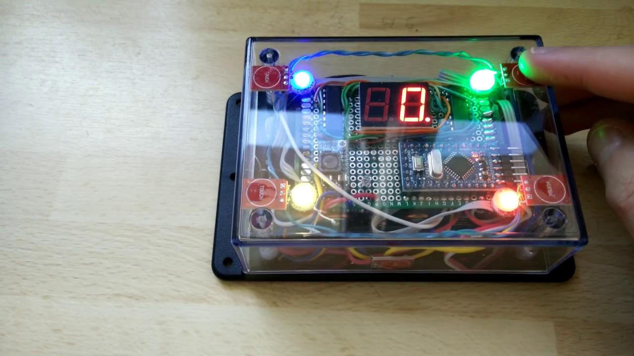 Simon says memory game with arduino pro mini youtube