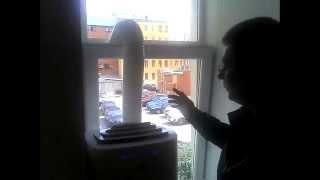 видео Как самостоятельно установить оконный кондиционер в пластиковое окно