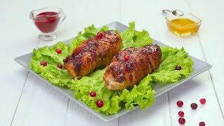 Как приготовить куриную грудку с клюквой - Рецепты от Со Вкусом