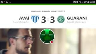 Brasileirão Série B 🔵NARRAÇÃO VIVO AVAÍ X GUARANI  ⚽️⚽️⚽️