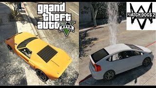 GTA 5 is Better than Watch Dogs 2 | COMPARISON