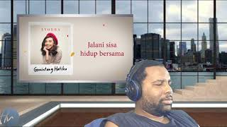 Lyodra - Gemintang Hatiku (Lyric )|HizWill Reaction