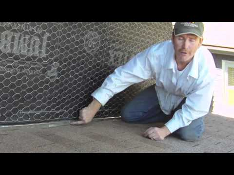 Roof Flashing And Proper Counter Flashing Using A Weep