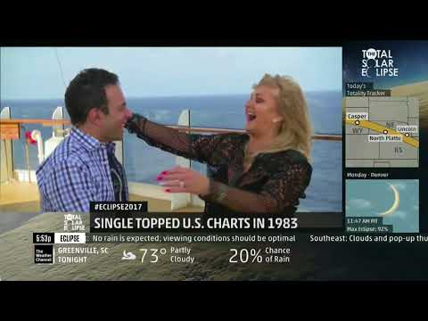Eclipse 2017 - Bonnie Tyler Live Interview