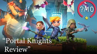 Portal Knights PS4 Review (Video Game Video Review)