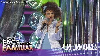 "Your Face Sounds Familiar: Denise Laurel as Gloria Estefan - ""Conga"""