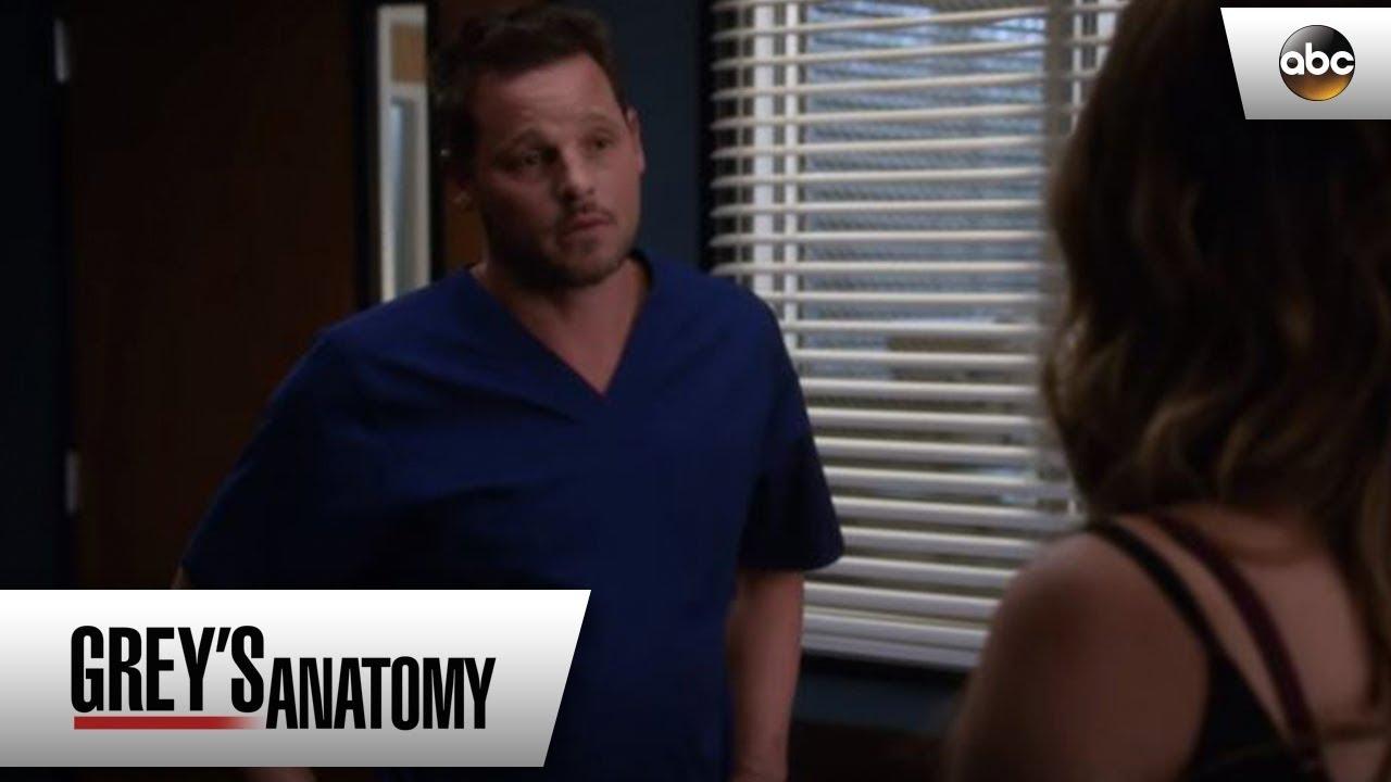 Alex and Jo Reunite - Grey's Anatomy - YouTube
