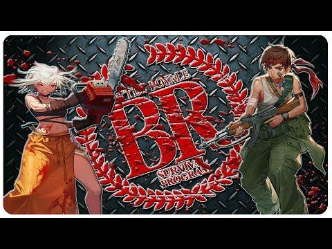 BATTLE ROYALE meets HUNGER GAMES | Black Survival Gameplay (Free Game)