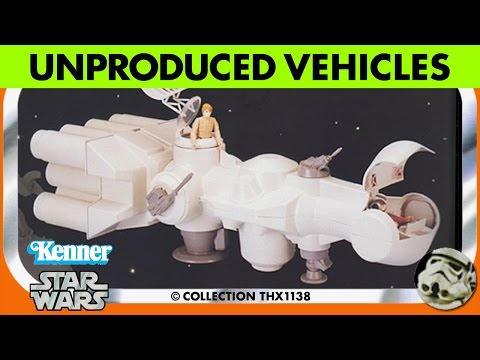 Star Wars Kenner Unproduced & Production Prototype Vehicles | Collection THX1138