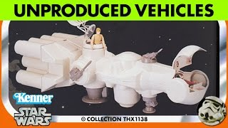 Star Wars Kenner Unproduced  Production Prototype Vehicles  Collection THX1138