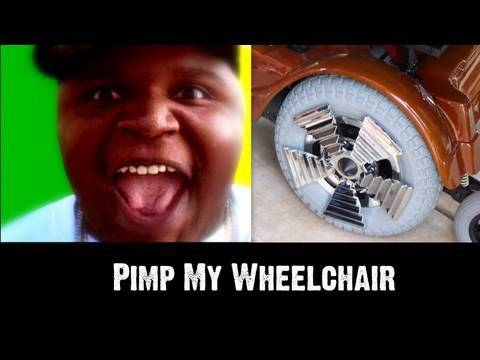darius weems pimp my wheelchair team illz stand 4 something. Black Bedroom Furniture Sets. Home Design Ideas