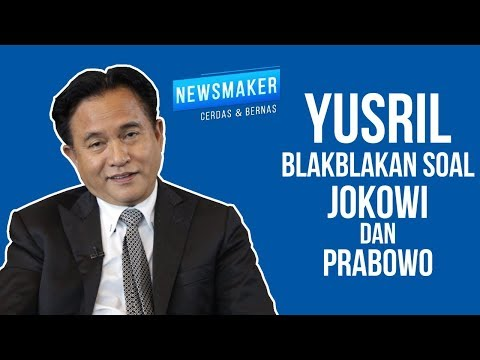 Yusril Blakblakan Soal Jokowi Dan Prabowo
