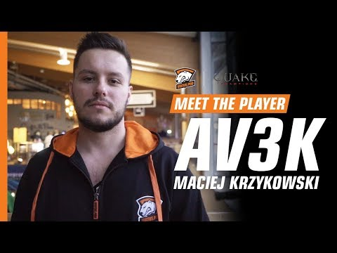 MEET THE PLAYER   Av3k - esport legend from Poland, who prefer Quake Champions over CS:GO