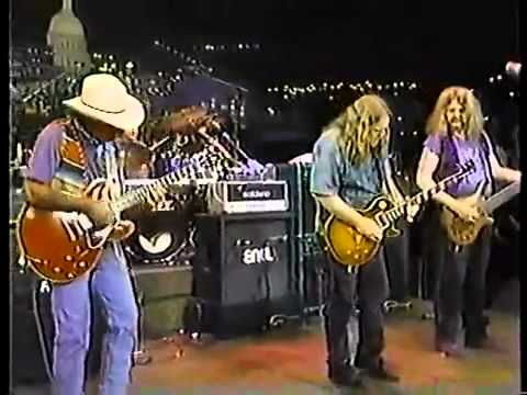 Allman Brothers Band   Back Where It All Begins live